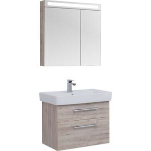 Мебель для ванной Dreja Q Max 80 дуб кантри