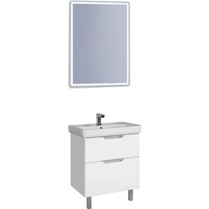 Мебель для ванной Dreja Q Plus 55 белый