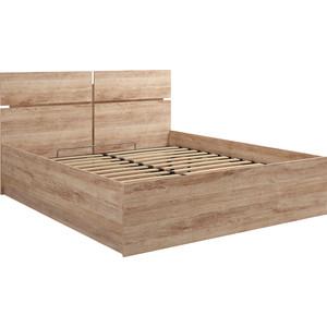 Кровать Комфорт - S Богуслава М 12 дуб баррик светлый 160 пм