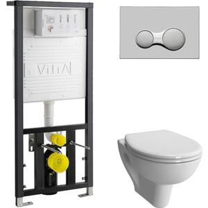 Комплект Vitra Normus с инсталляцией, с микролифтом (6855B003-0101, 700-1873, 800-003-009)