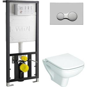 Комплект Vitra S20 с инсталляцией, с микролифтом (5507B003-0101, 700-1873, 77-003-009) комплект унитаз с инсталляцией vitra s20 9004b003 7202