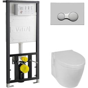 Комплект Vitra Sunrise с инсталляцией, микролифтом (5384B003-0075, 700-1873, 75-003-009)