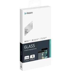 Защитное стекло Deppa 3D Full Glue для Samsung Galaxy A30 (2019), 0.3 мм, черная рамка