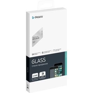 Защитное стекло Deppa 3D Full Glue для Samsung Galaxy A70 (2019), 0.3 мм, черная рамка аксессуар защитное стекло для samsung galaxy a6 onext full glue gold 41684
