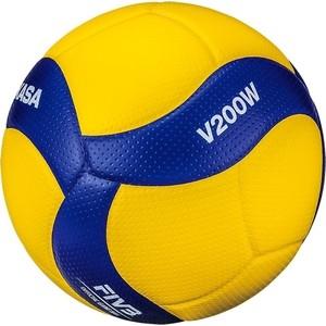 Мяч волейбольный Mikasa V200W официальный мяч FIVB мяч для водного поло mikasa w6609c жен размер