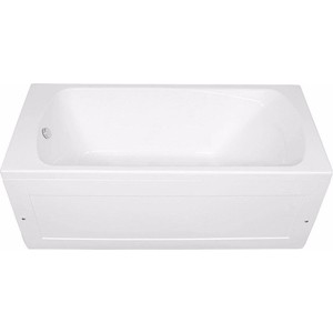 Акриловая ванна Aquanet Roma 160x70 с каркасом, без гидромассажа (205505, 233623)