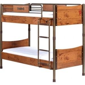 Кровать Cilek Pirate двухъярусная кресло cilek bidrive chair