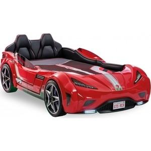 Кровать-машина Cilek GTS красная