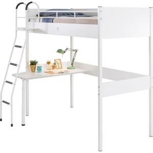 Кровать-чердак Cilek Compact white