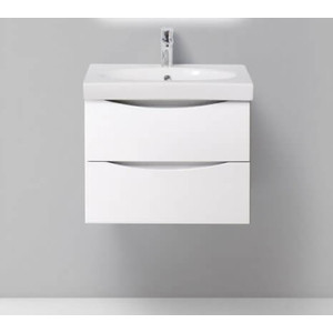 Тумба под раковину BelBagno Fly 60 bianco lucido (FLY-600-2C-SO-BL-P)