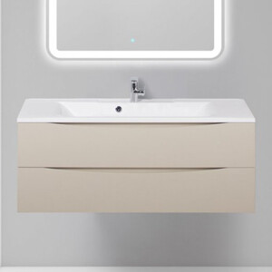 Тумба с раковиной BelBagno Marino 120 cioccolato opaco (MARINO-1200-2C-SO-CO-P, BB1200/450-LV-MR-PR)