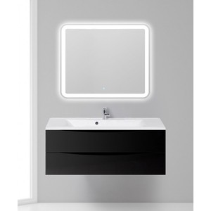 Мебель для ванной BelBagno Marino 120 nero lucido
