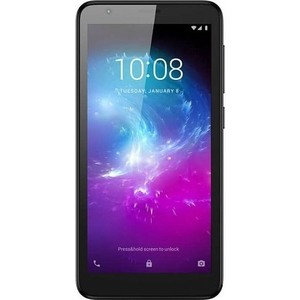 Смартфон ZTE Blade A3 (2019) Black flip pu leather protective stand case cover for zte blade l2