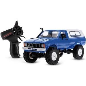 Радиоуправляемый краулер WPL Military Truck Buggy Crawler RTR 4WD масштаб 1:16 2.4G - WPLC-24-R-Blue