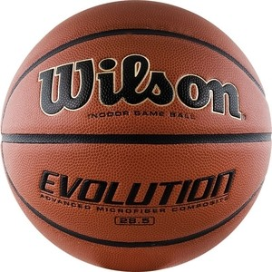 Мяч Wilson баскетбольный Evolution WTB0586XBEMEA р.6