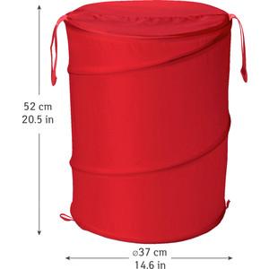 Корзина для белья Art moon PEPPY складная, 57 л, диаметр 37 х 52 см (699430) корзина для белья natural house цветы ободок цвет молочный 29 х 29 х 37 см