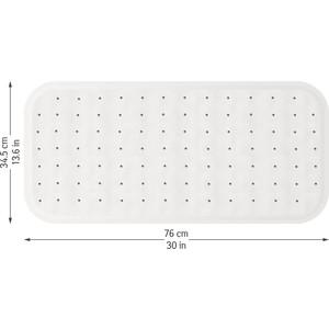 Коврик для ванной Tatkraft FINEST противоскользящий, 76 x 1.5 34.5 см (16651)
