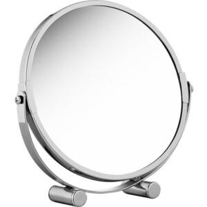 Зеркало Tatkraft EOS двустороннее косметическое настольное, регулируемое, складное с увеличением с одной стороны 200%, 17 см в диаметре (11656) фото