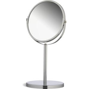 Зеркало Tatkraft VENUS двустороннее косметическое настольное, регулируемое, с увеличением одной стороны 300%, 17 см в диаметре (11120)