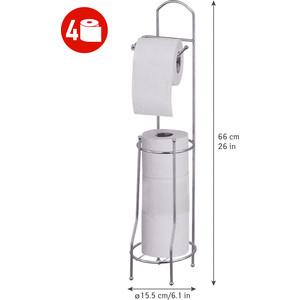 Держатель Tatkraft GRACE для туалетной бумаги, напольный 15,5 x 66 см (13452)