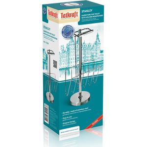 Гарнитур для туалета Tatkraft STANLEY с держателем для газет и журналов и хранения 2-х рулонов, 58 см (11236) корзина подвесная tatkraft on двухуровневая 25 х 12 х 47 см