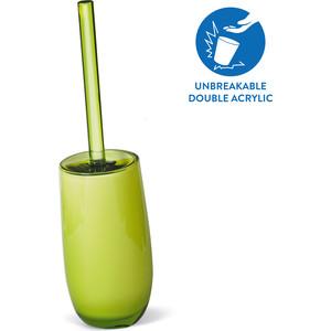 Гарнитур для туалета Tatkraft REPOSE GREEN, многослойный, ударопрочный акрил, 35 см (12332)