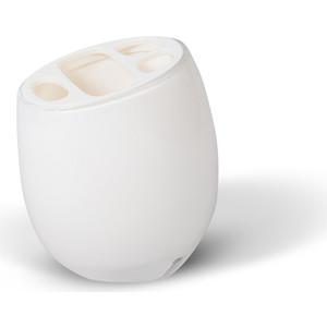 Стакан для ванной комнаты Tatkraft REPOSE WHITE, многослойный, ударопрочный акрил зубных щеток (12202)