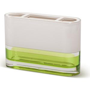 Стакан для ванной комнаты Tatkraft TOPAZ GREEN, многослойный, ударопрочный акрил зубных щеток (12691)