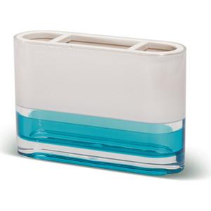 Стакан для ванной комнаты Tatkraft TOPAZ BLUE, многослойный, ударопрочный акрил для зубных щеток (12745) все цены
