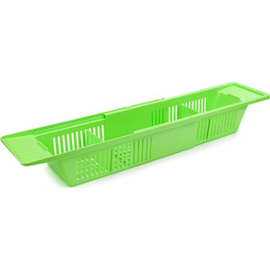 Полка Berossi Toys на ванную (салатный), пластик, 796 х 151 99 мм (АС 20738000)