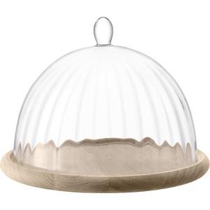 Блюдо со стеклянным куполом d 25 см LSA International Aurelia (G1357-25-776)