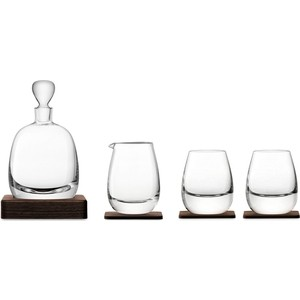 Набор для виски с деревянными подставками LSA International Islay Whisky (G1220-00-301)