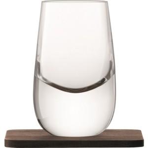 Набор из 2 шотов на подставках 80 мл LSA International Whisky (G1213-03-301)