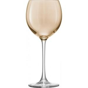 Набор из 4 бокалов для вина 400 мл металлик LSA International Polka (G932-14-960)