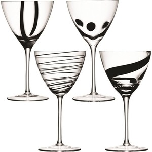 Набор из 4 бокалов для вина, 420 мл LSA International Jazz (G921-12-987)