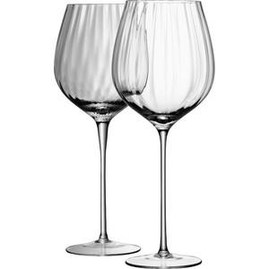 Набор из 4 бокалов для красного вина 660 мл LSA International Aurelia (G845-21-776) набор бокалов для шампанского lsa international aurelia 4 предмета 200 мл