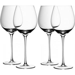 Набор из 4 бокалов для красного вина 750 мл LSA International Wine (G939-27-991) набор бокалов для вина lsa international wine 340 мл 4 предмета
