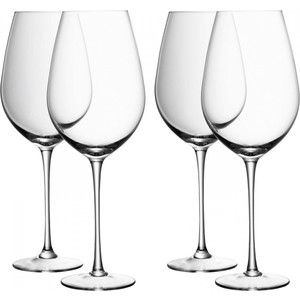 Набор из 4 бокалов для красного вина 850 мл LSA International Wine (G939-30-991) набор бокалов для вина lsa international wine 340 мл 4 предмета