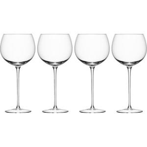 Набор из 4 круглых бокалов для вина 570 мл LSA International Wine (G867-20-301) набор бокалов для вина lsa international wine 340 мл 4 предмета