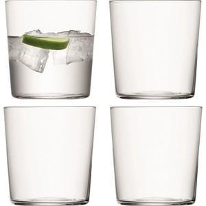 Набор из 4 стаканов, 390 мл LSA International Gio (G060-13-992A) набор из 2 стаканов 310 мл зелёный lsa international bangle g060 09 196