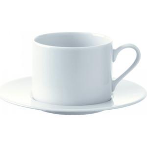Набор из 4 чашек с блюдцем 250 мл LSA International Dine (P034-11-997) набор из 4 обеденных тарелок d 28 см lsa international dine p079 27 997