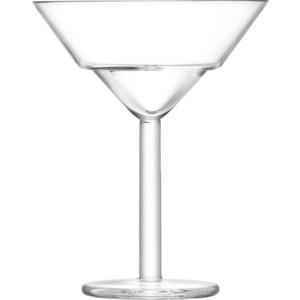 Фото - Набор их 2 бокалов для мартини 230 мл LSA International Mixologist (G1451-08-187) набор их 2 полукруглых бокалов 320 мл lsa international mixologist g1451 11 187