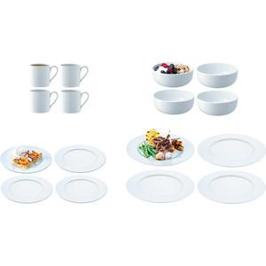 Фото - Набор посуды с бортиком 16 предметов LSA International Dine (P215-02-997) набор тарелок lsa international dine 12 предметов