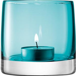 Подсвечник для чайной свечи 8,5 см бирюзовый LSA International Light Colour (G368-08-742)