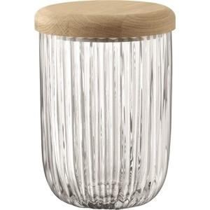 Стакан с деревянной крышкой из дуба 18,5 см LSA International Pleat (G1441-18-301) цена
