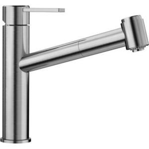 Смеситель для кухни Blanco Ambis-S с выдвижным изливом, нержавеющая сталь (523119)
