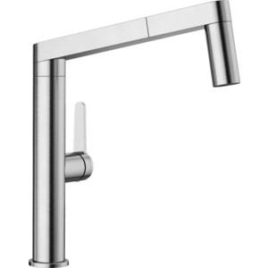 Смеситель для кухни Blanco Panera-S с выдвижным изливом, нержавеющая сталь (521547)