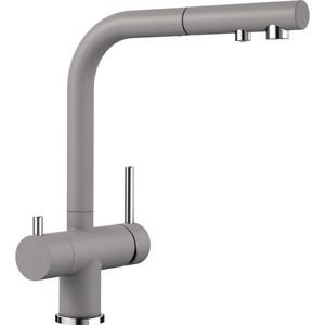 Смеситель для кухни Blanco Fontas-S II под фильтр, с выдвижным изливом, алюметаллик (525201)