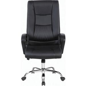 Кресло офисное Brabix Forward EX-570 хром, экокожа черное