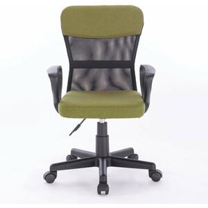 Кресло Brabix Jet MG-315 с подлокотниками, зеленое